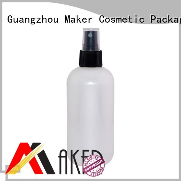 empty plastic spray bottles white round mist spray bottle Maker Brand