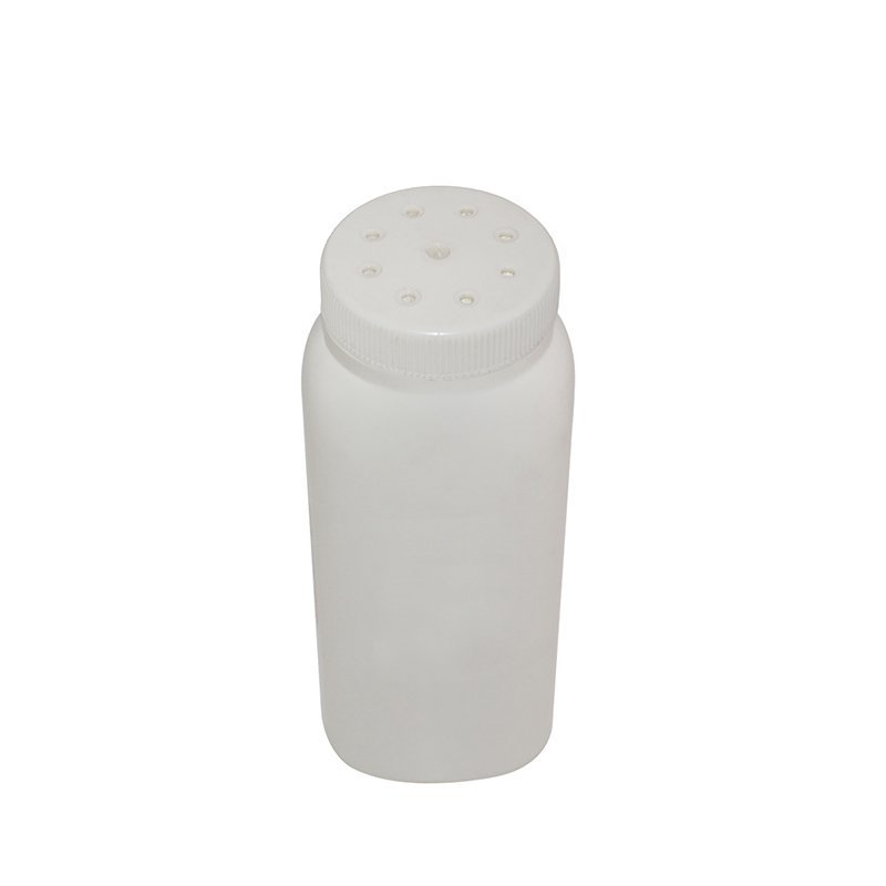 100ml Rectangle Empty White Plastic PE Bottle With Lid For Powder+CPPE00RSS020040010000051YM