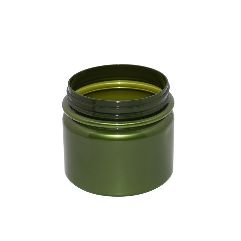 535ml Large Opaque Green Empty Plastic PET Cosmetic Jar With the Plastic Cap Or Aluminum Cap+CPPET0RSS042089053500007YM