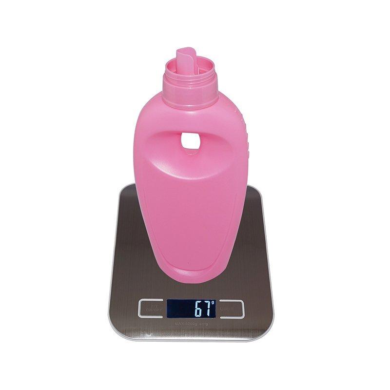 700ml Unique Design Plastic HDPE Laundry Detergent Bottle With Handle With Measure Cap+CPPE00RSS066043072700012JX