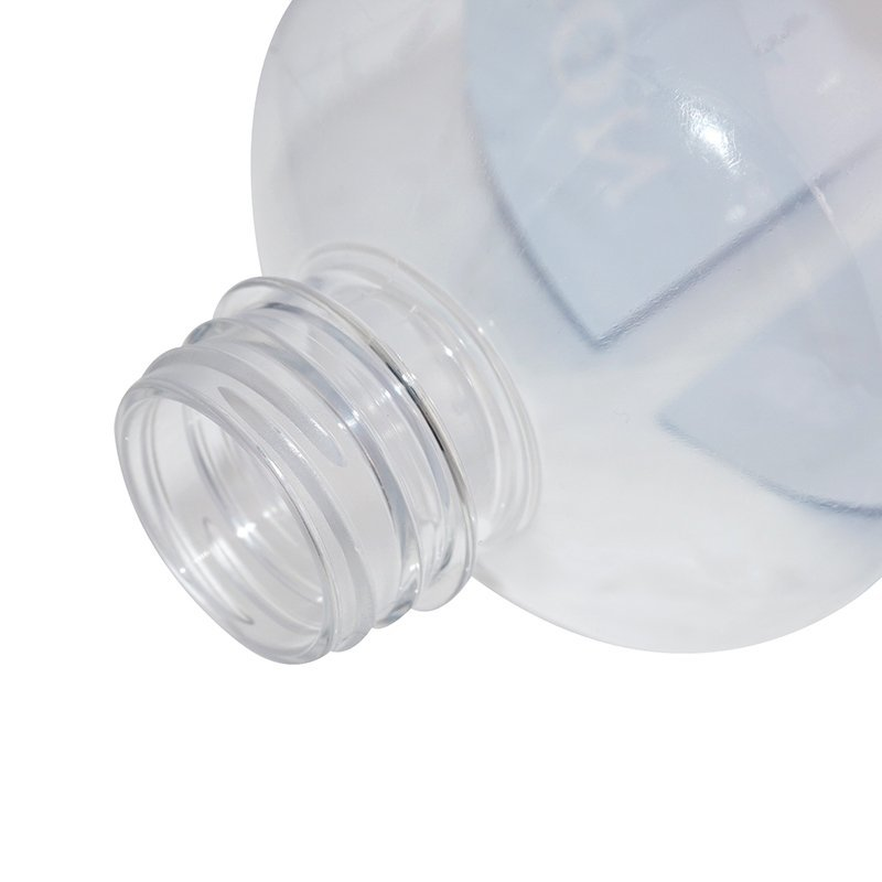 Big capacity plastic PET mineral water bottle with tamper proof cap and labeling +CPPET0SQT056038130400180FYD