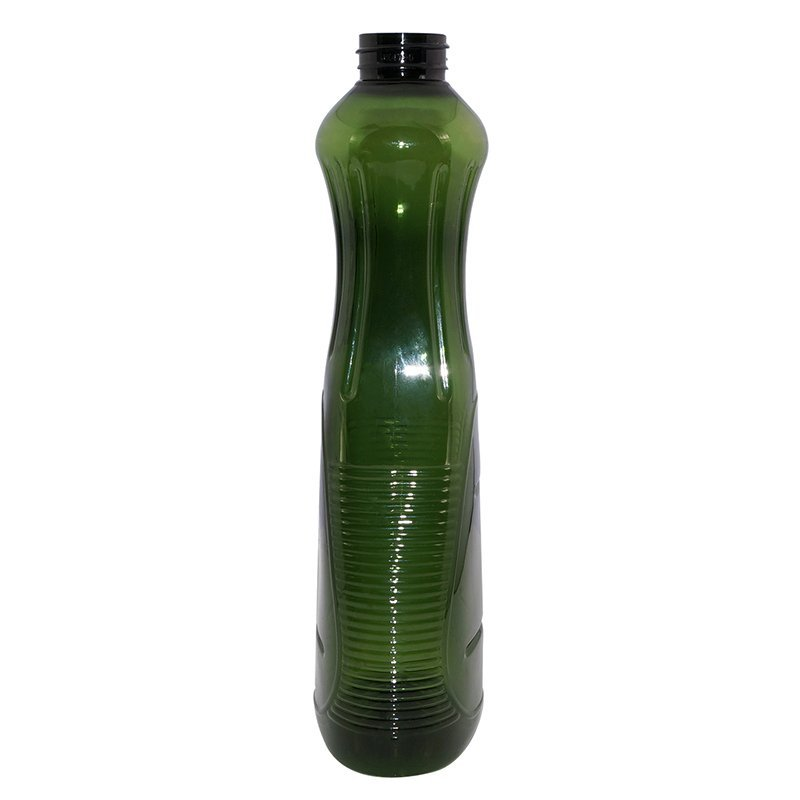 PET plastic juice bottle with long mouth cap for syrup+CPPET0SBT047032072700181FYD