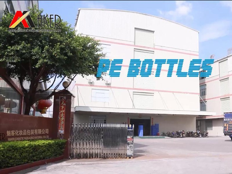 Plastic HDPE and PETG Cosmetic Bottle Production Process of Maker Cosmetic Packaging Material Co., Ltd