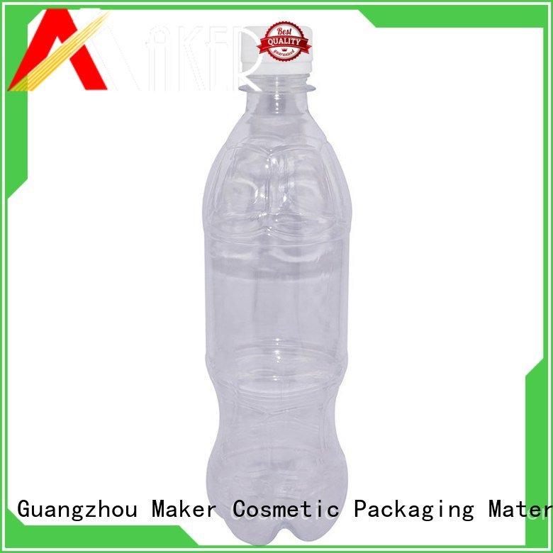 empty water bottles square wholesale Maker