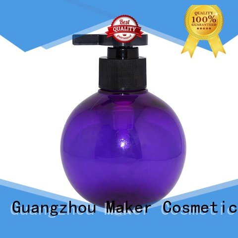 round fancy lotion bottles cylinder wholesale