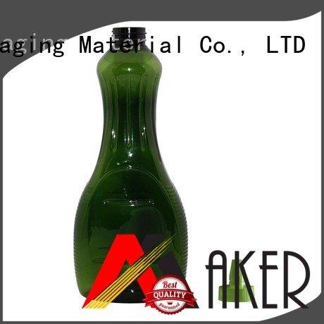 Maker food grade bottle of juice long mouth manufacturer