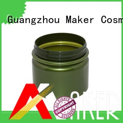Maker Brand jar opaque large plastic jar packaging