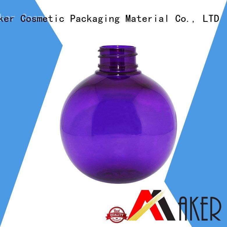 cream round shaped empty Maker lotion pump dispenser