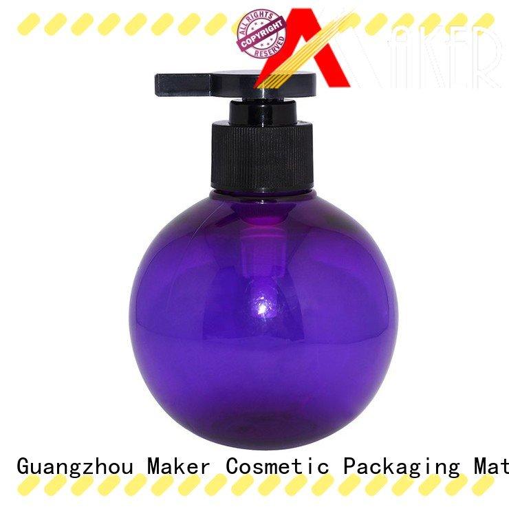 Maker custom lotion bottles flat manufacturer