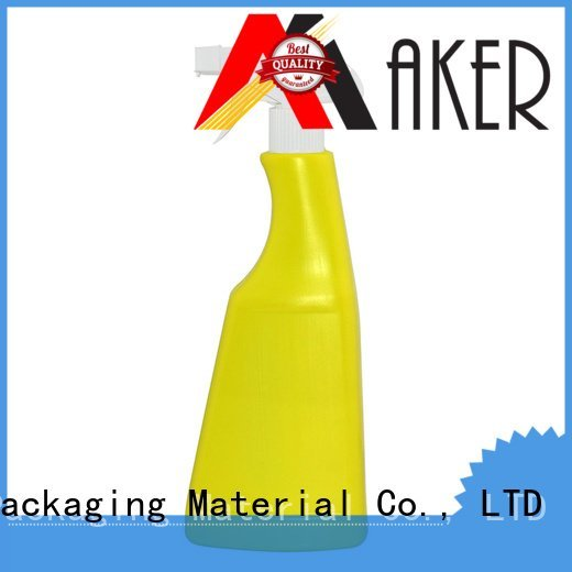 Maker Brand 570ml plastic mist spray bottle black mist