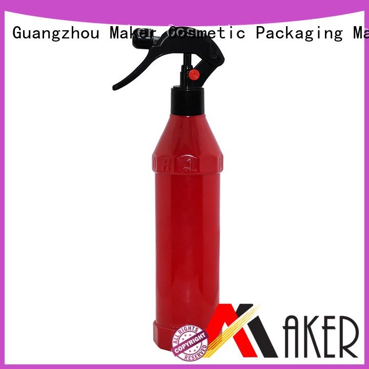 Maker Brand dispenser red pet plastic dispenser trigger