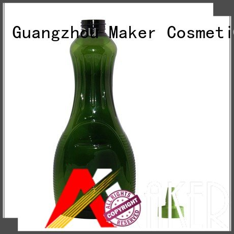 Maker empty juice bottles long mouth manufacturer