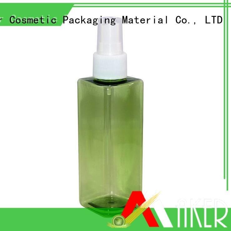 Maker care 32mm cream bottle pe pump