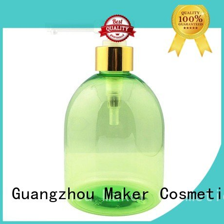 green cosmetic bottles wholesale facial toner for sale