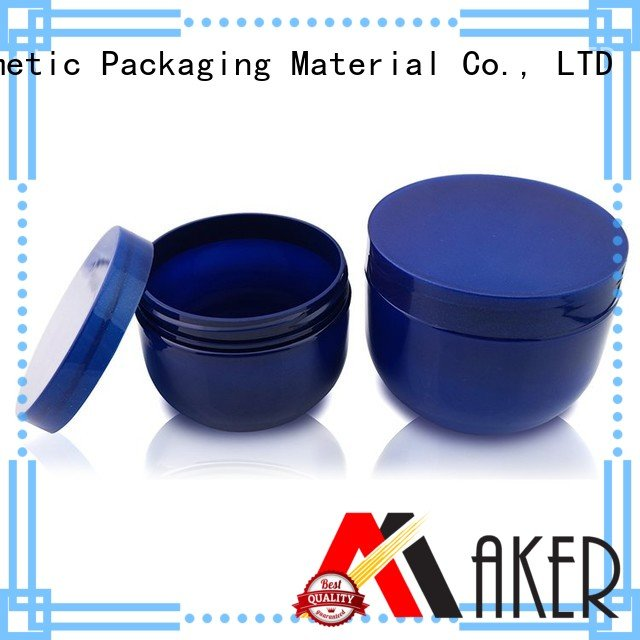 Maker Brand 535ml opaque plastic jars manufacture
