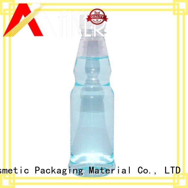 BPA free factory wholesale 300ml empty transparent PET plastic juice bottle with tamper proof cap