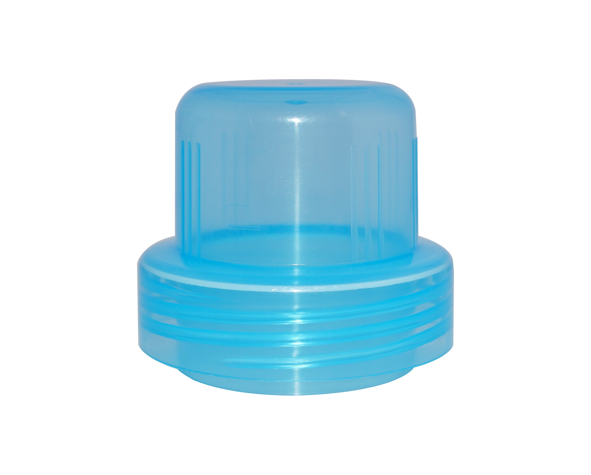 2000ml Empty Plastic HDPE Handling Laundry Detergent Bottle With Inner Plug and Outer Cap