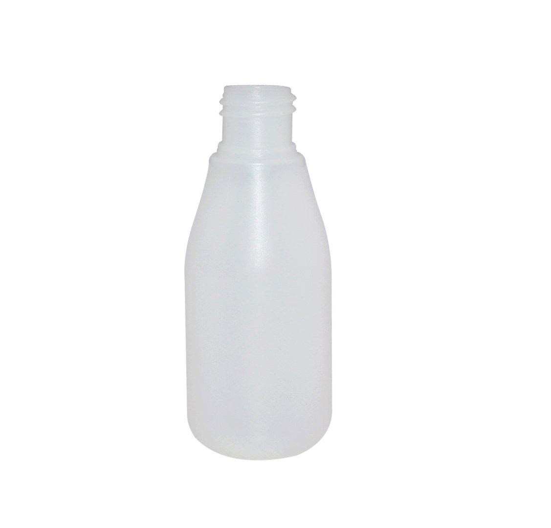 Semi transparent PE plastic bottle with trigger for garden