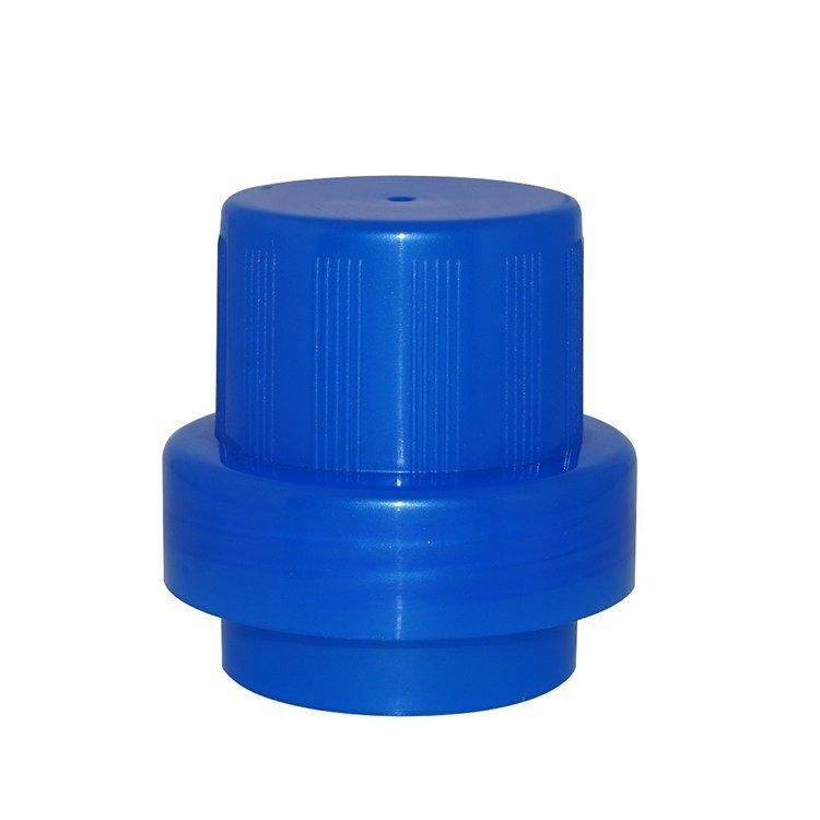 Factory price 2000ml light yellow PE plastic laundry bottle wholesale with screw cap