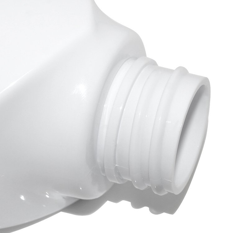 Factory wholesale white empty 300ml PET plastic cosmetic lotion bottle supplier with aluminum covered lotion pump