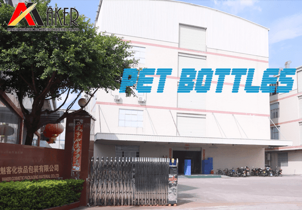 Cosmetic Plastic PET bottle Production Process of Maker Cosmetic Packaging Material Co., Ltd
