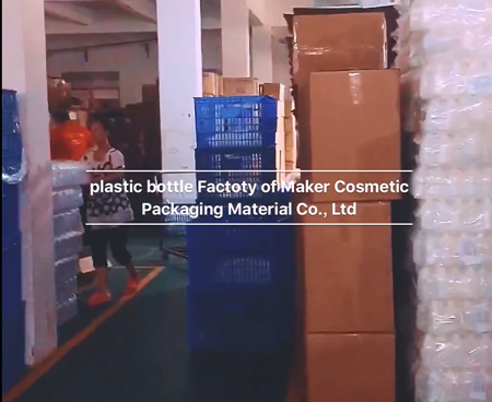 Plastic HDPE Bottle PET Bottle PETG Bottle Factory of Guangzhou Maker Cosmetic Packaging Material