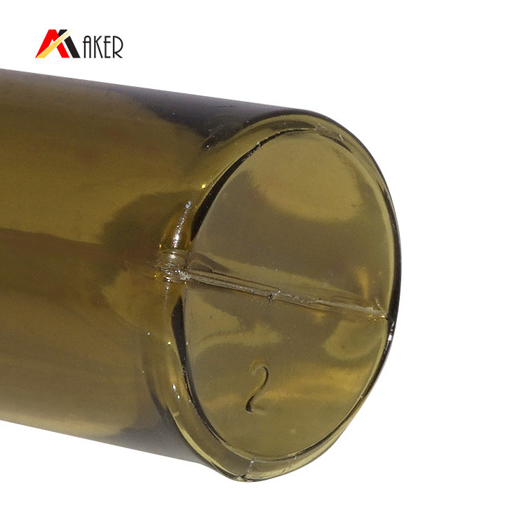 China wholesale empty 10ml round amber PETG plastic cosmetic serum bottle with rubber seal