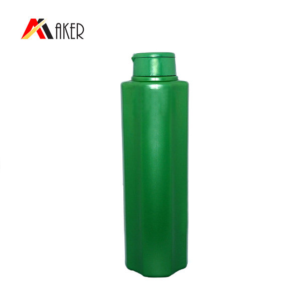 200ml plastic shampoo bottle green oval empty shampoo container plastic bottle