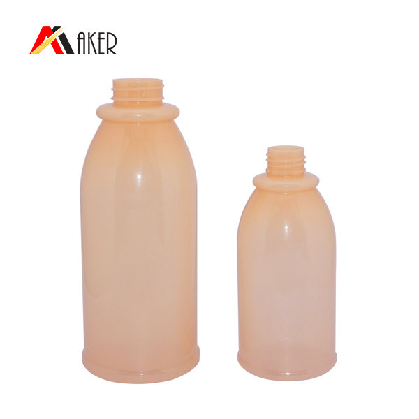 Empty 550ml shampoo bottle China supplier PET plastic bottle for shampoo with lotion pump