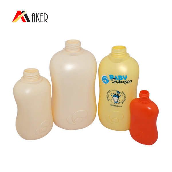 China wholesale plastic PE bottle factory suoolier 100ml 400ml 600ml shampoo bottle set