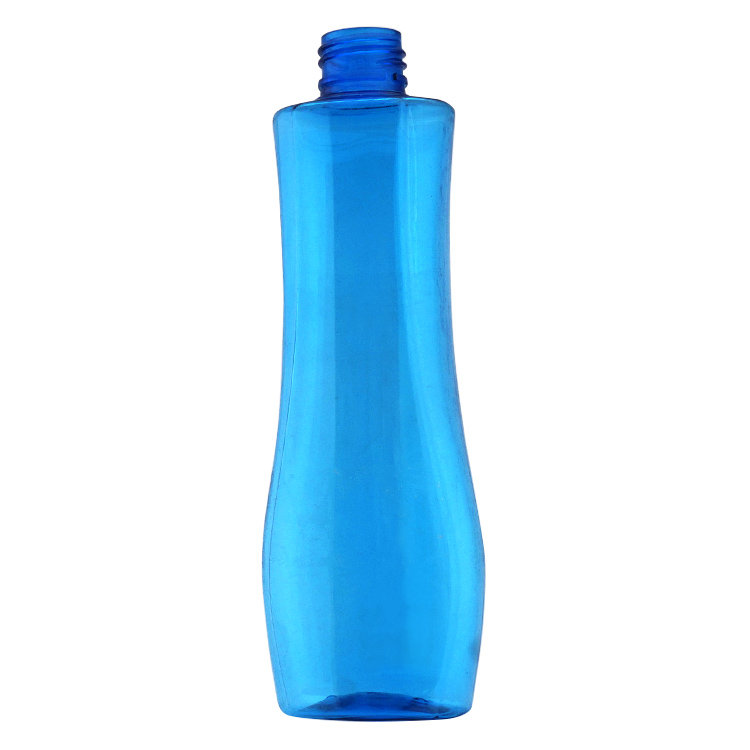Hot selling PET plastic lotion bottle empty 200ml cosmetic oil makeup remover bottle with pump