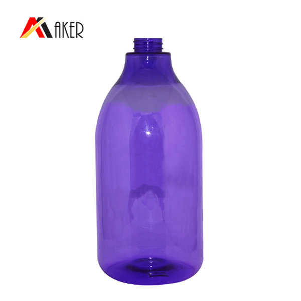Factory wholesale custom shampoo bottle personal care big capacity empty plastic PET bottle with lotion pump