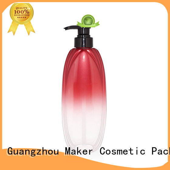 Maker flat shampoo bottle 100ml for sale