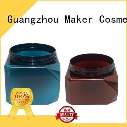 plastic jar packaging aluminum plastic plastic jars Maker Brand