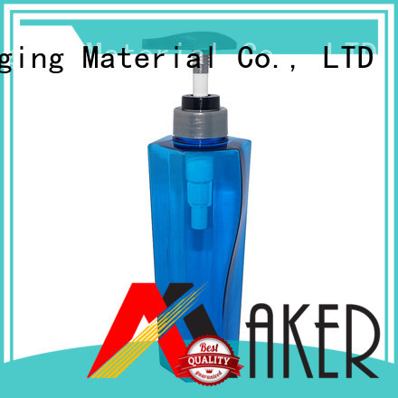 modern package Maker Brand pump bottle
