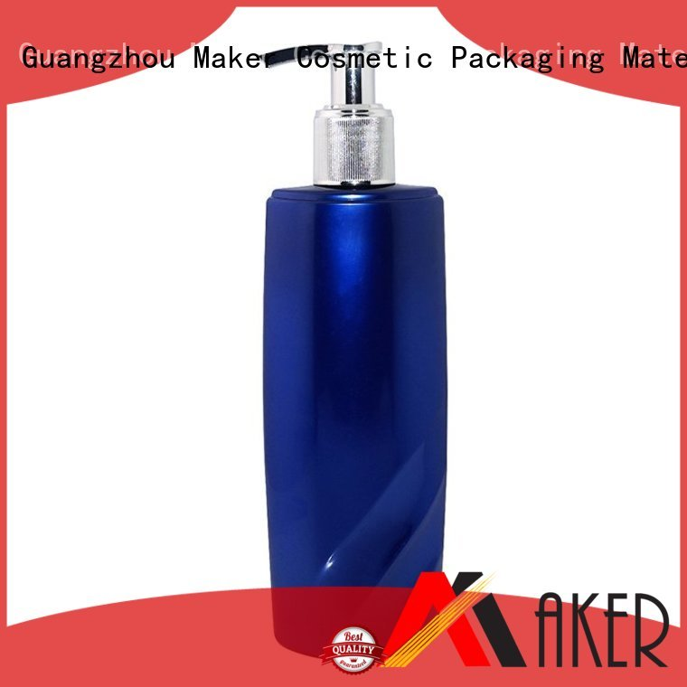pump semitransparent lotion OEM shampoo bottle Maker