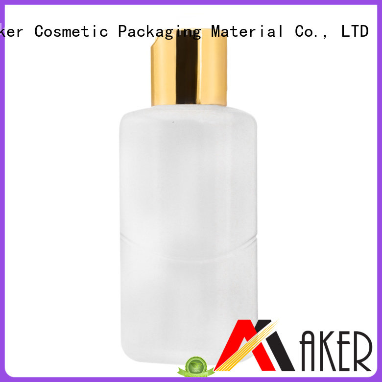silicone travel bottles silk screen empty lotion pump dispenser manufacture