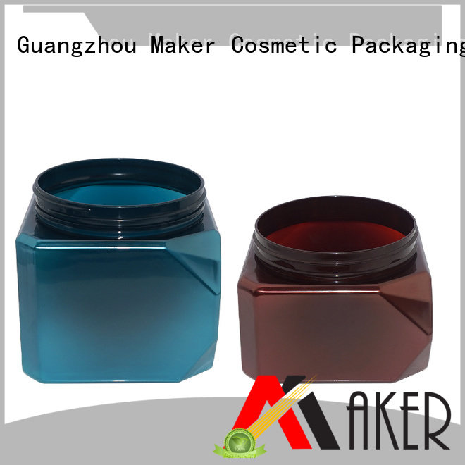 Maker Brand or jar 535ml custom plastic jar packaging