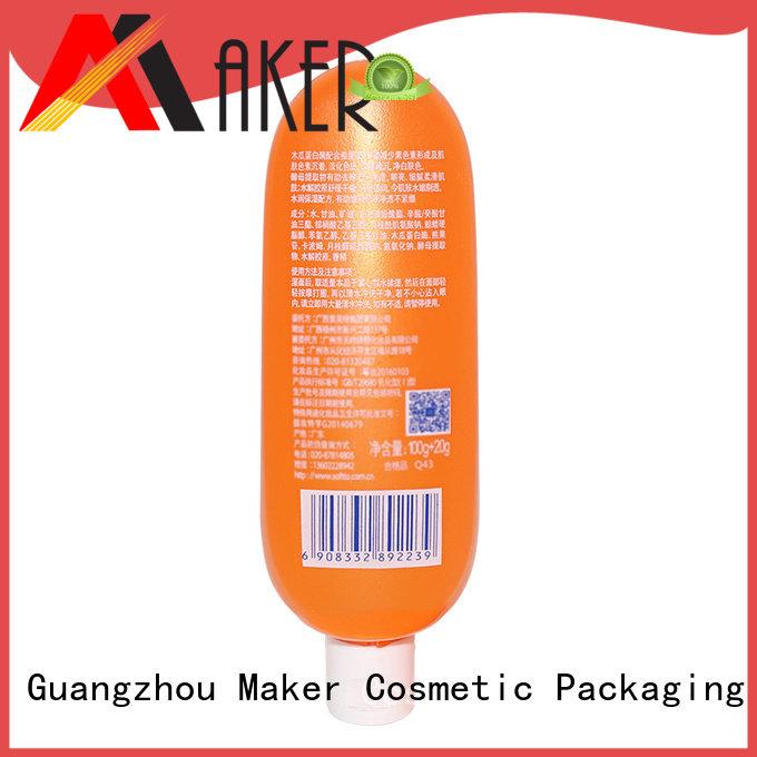 Maker orange cream bottle daily wholesale