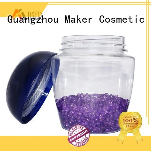 Maker blak pet plastic jars shampoo wholesale
