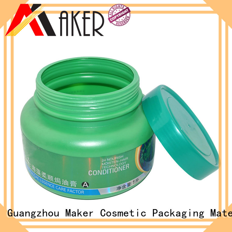 Quality Maker Brand plastic jar packaging aluminum 535ml