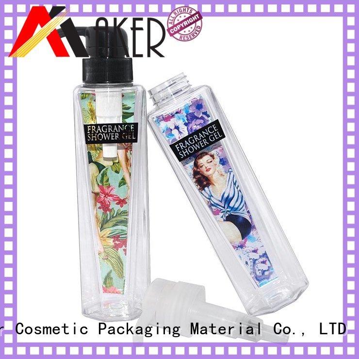Maker cosmetic bottle suppliers gel online