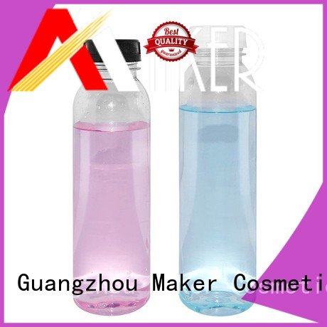 Maker Brand mouth plastic juice in bottle round factory