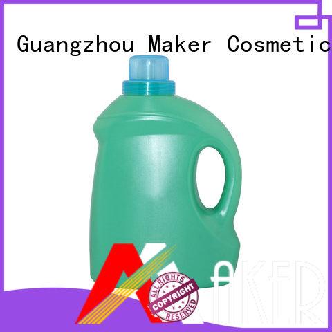 Maker flat empty laundry bottle packaging manufacturer