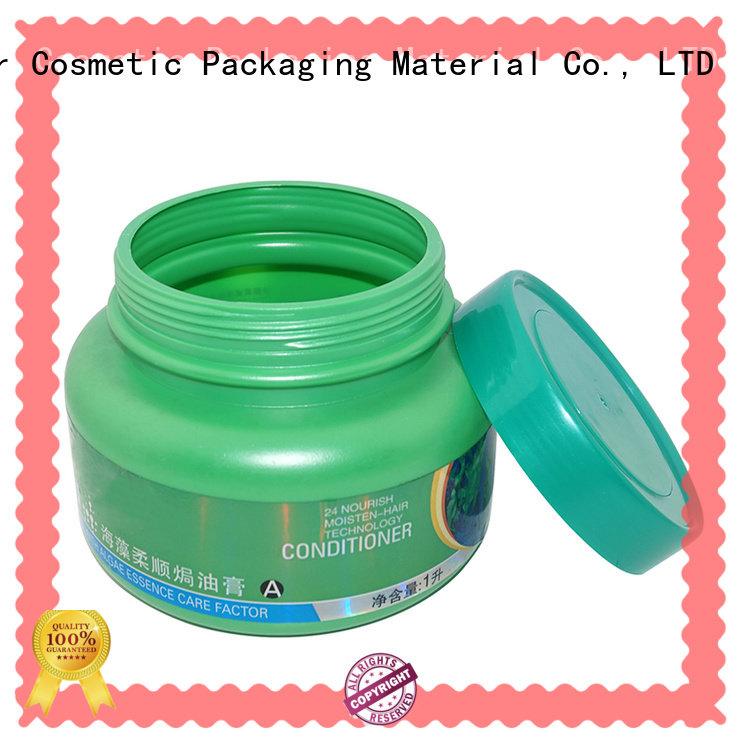 Maker pink round plastic jars cap wholesale