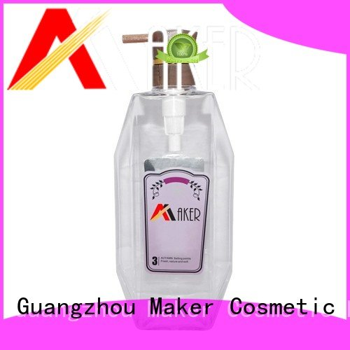 Maker oil cosmetic bottles shower for sale