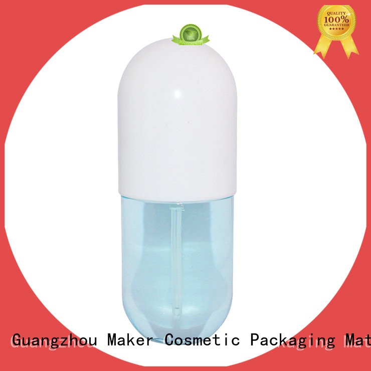 Maker aluminum refillable lotion bottle manufacturer