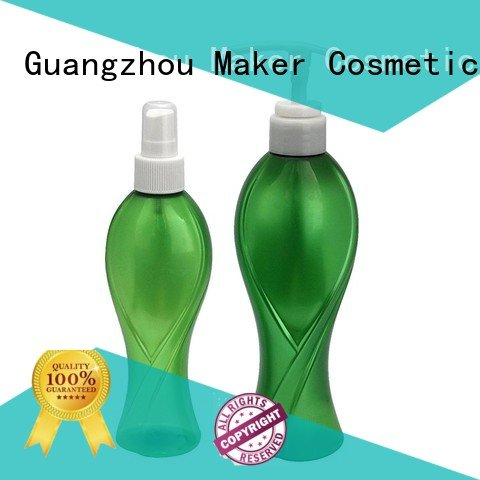 pet 250ml personal empty plastic spray bottles Maker manufacture