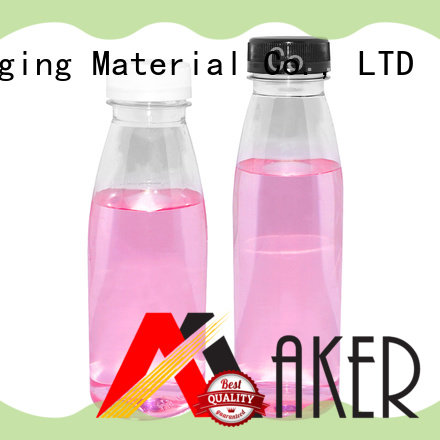 Maker empty fruit juice bottles long mouth wholesale