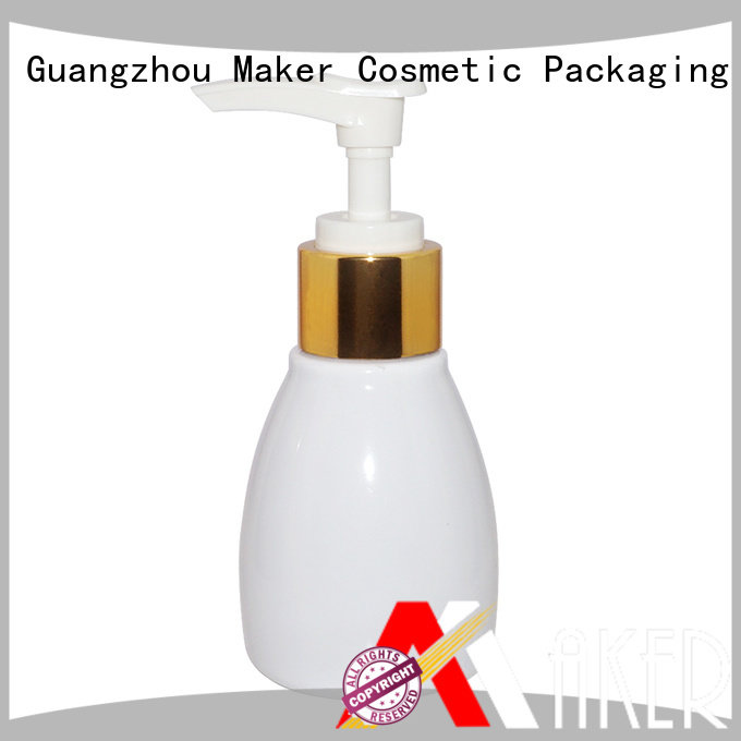 Maker round plastic travel bottles clear for sale
